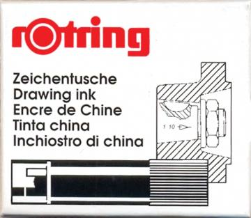 Bombice Rotring Isograph Črna 2895