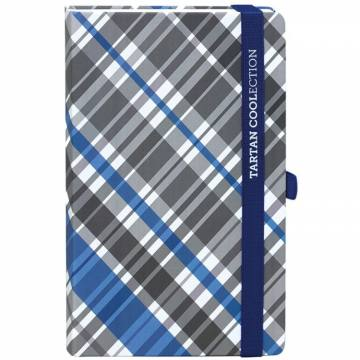NOTES TARTAN A5 SORT 90L 7629